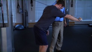 Golf Fitness: Standing Pushing Exercise