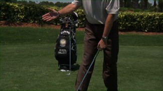 Practicing Backswing with the Shake Hands Drill