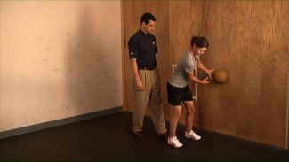 Exercises for Golfers: Medicine Ball Wall Drills
