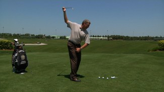 Right Arm Only Golf Swing Drill