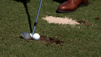 Tips on How to Hit Your Ball Out of a Golf Divot
