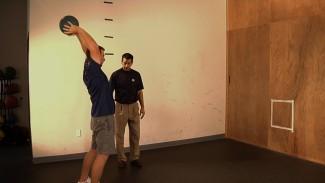 Core Exercises for Golf: Medicine Ball Throws