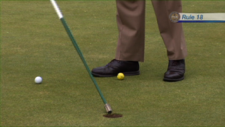 Rules of Golf: Rule 18-2A - Ball at Rest Moved