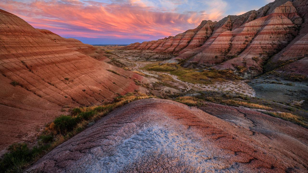 Photographing the Badlands