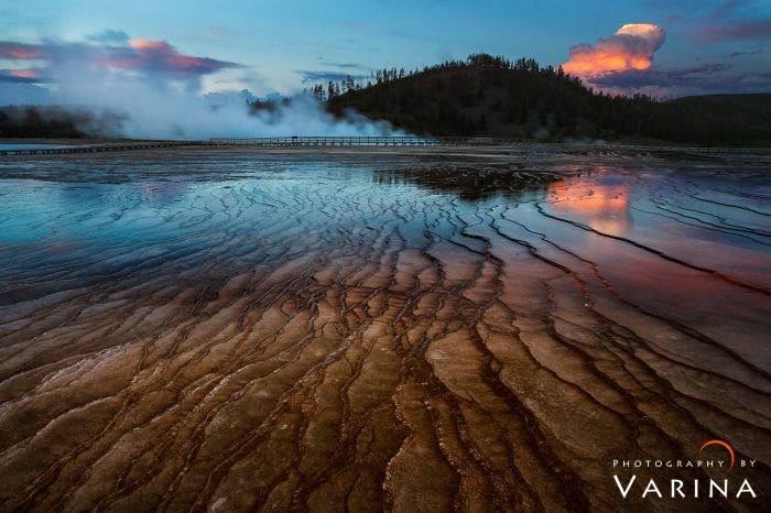 Grand Prismatic Hot Springs - Yellowstone National Park