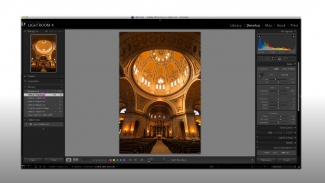 Post Production: Correcting Vertical Distortion and Blending Images