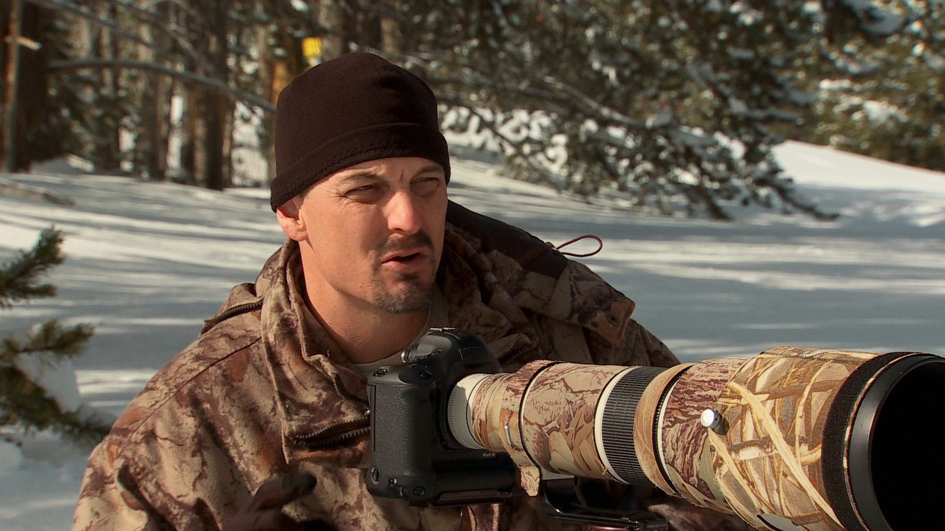 Winter Wildlife Photography Tutorial