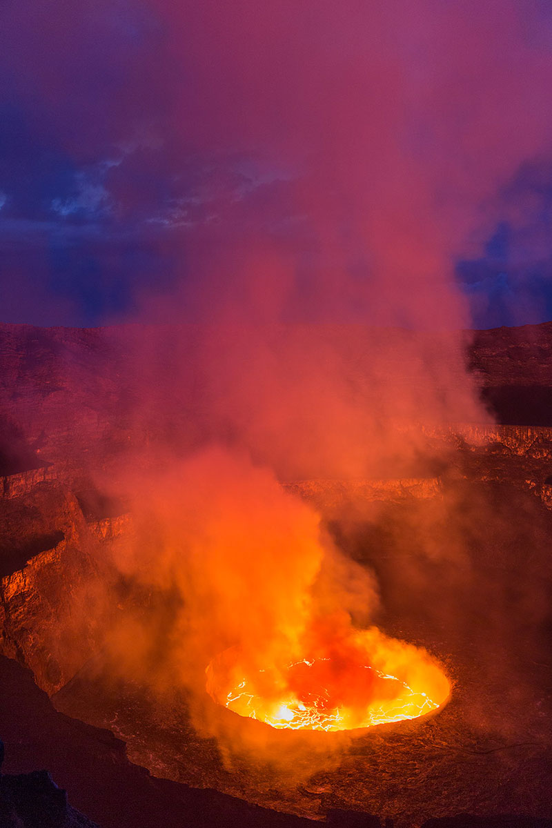 Nyiragongo Volcano Eruption Trip Report: Ny...