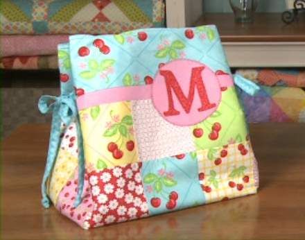 charming 7 - how to make a tote bag