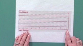 Quilting Rulers: Using an Add Enough Ruler