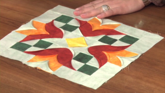 Curved Quilt Piecing