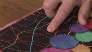 How to Satin Stitch with Machine Quilting