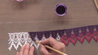How to Paint Venice Lace