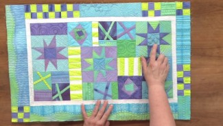 How to Piece a Quilt with Unusual Fabrics