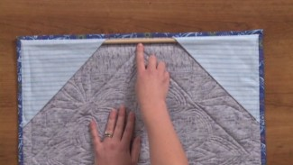 How to Hang A Quilt on a Wall
