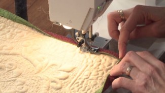 Quilt Binding Techniques: Piped Binding