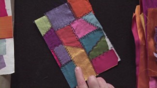 Deconstructed Crazy Quilt Technique