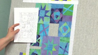 Using a Quilt Design Wall
