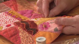 Bead Embroidery on Quilts