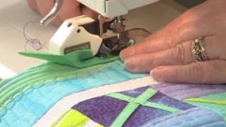 Continuous Binding and How to Miter Corners