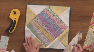 Piecing a Quilt with Strips