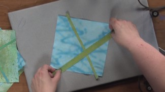 Easy X Blocks for Quilts