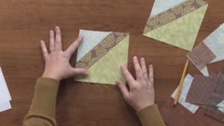 Stitch and Flip quilt Tutorial