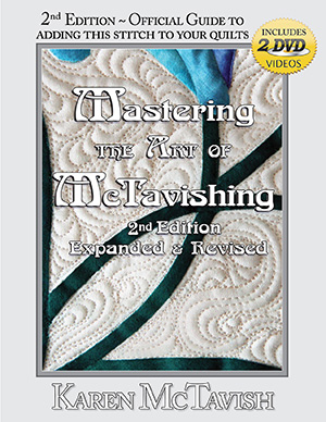 Order your copy of Mastering the Art of Mctavishing from www.designerquilts.com