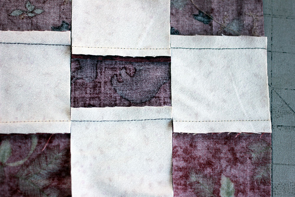pressing quilt seams 3