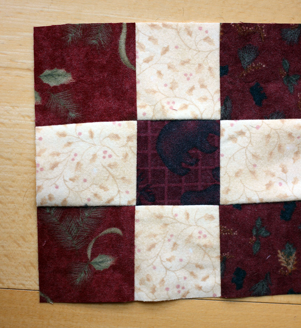 pressing quilt seams 4