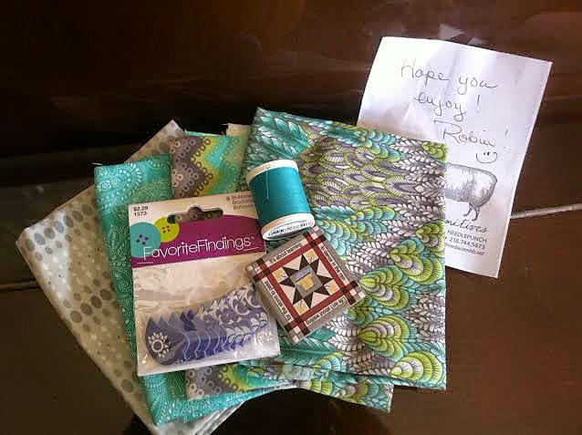 quilt fabric swap