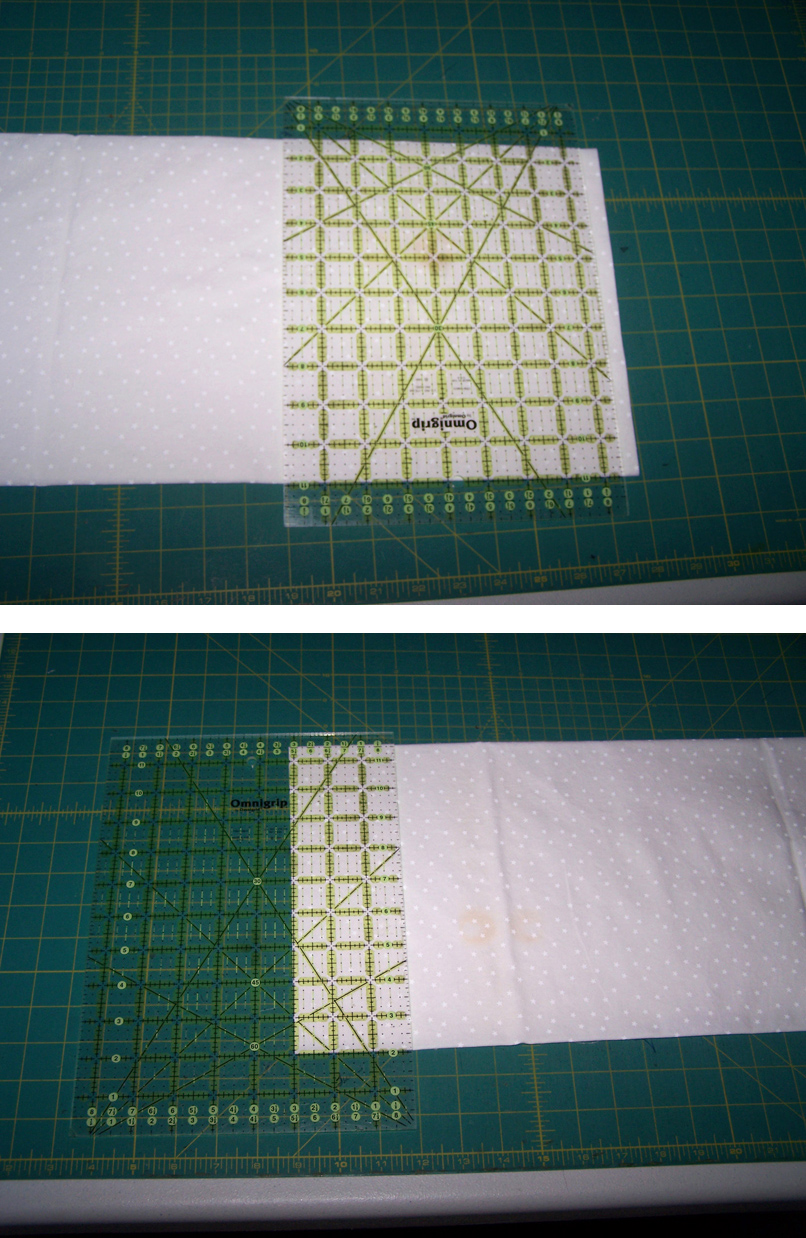 piecing squares 2 and 3