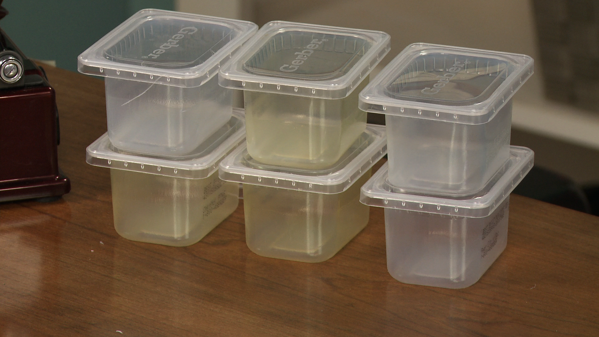 Baby Food Containers As Quilting Supplies Storage