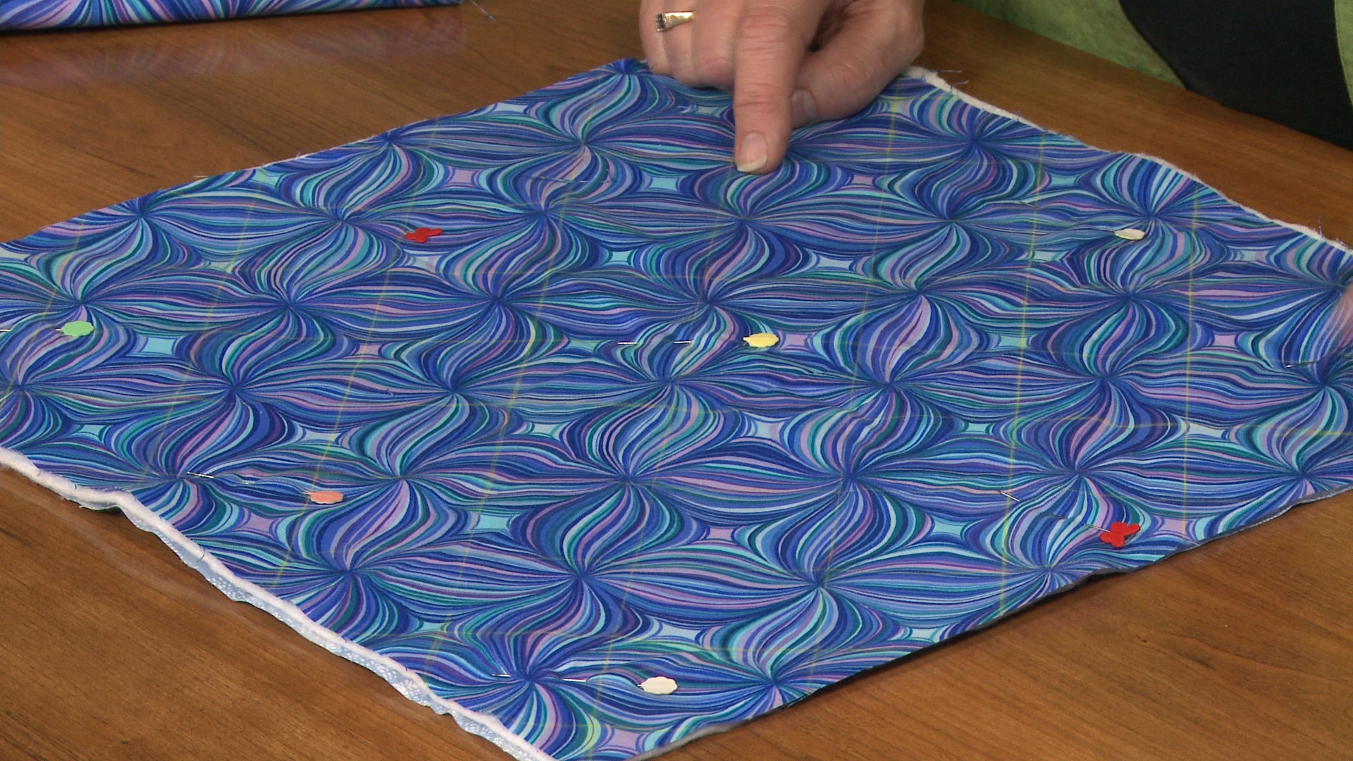 Working with PreQuilted Fabric   National Quilters Circle : pre quilted material - Adamdwight.com