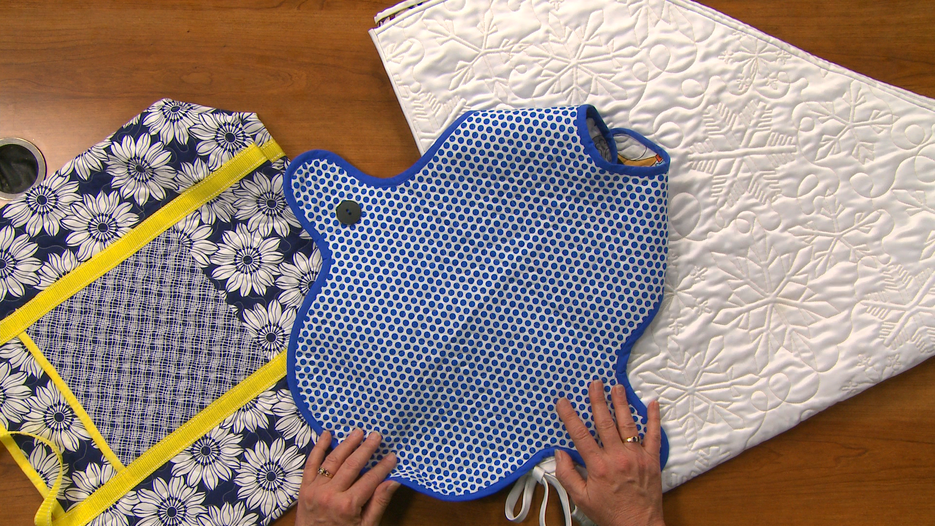 Working with PreQuilted Fabric | National Quilters Circle : pre quilted fabric patterns - Adamdwight.com