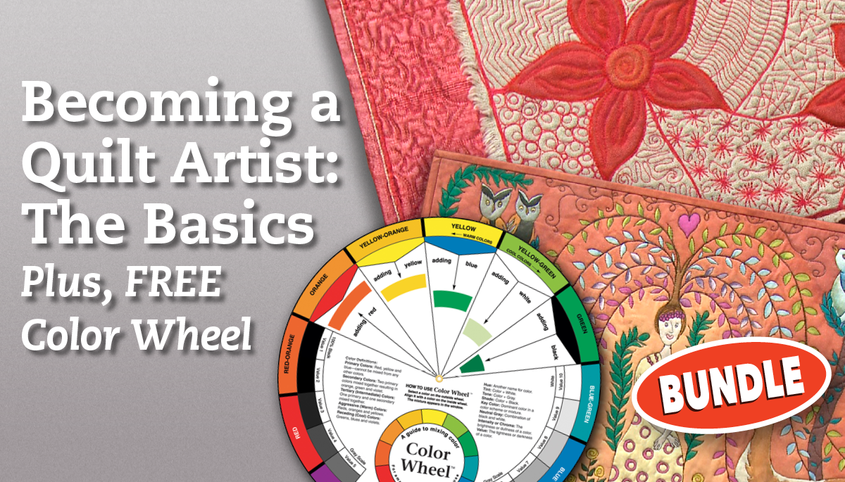 Becoming A Quilt Artist The Basics Free Color Wheel