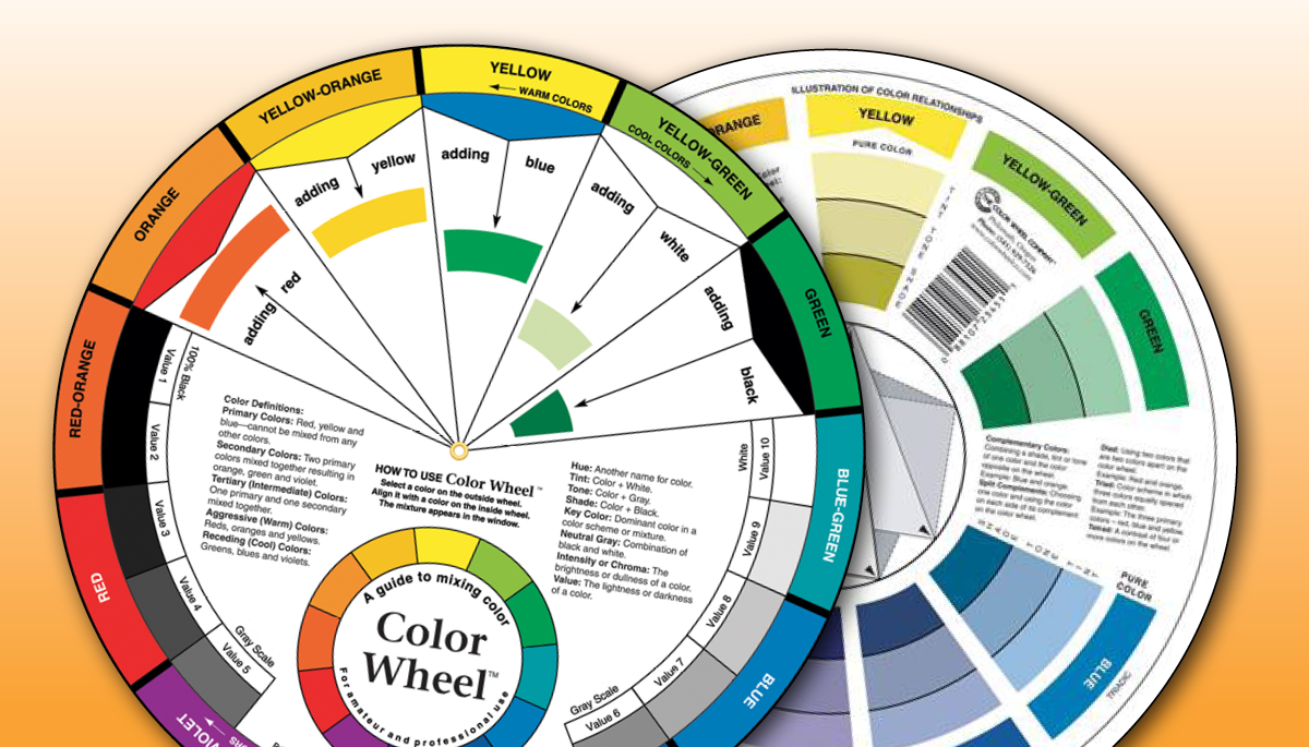English Color Wheel