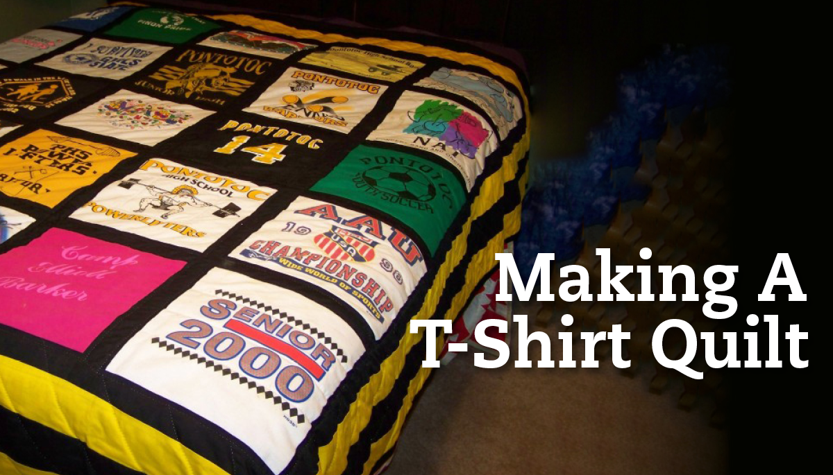 Making A T Shirt Quilt National Quilter Circle Classes
