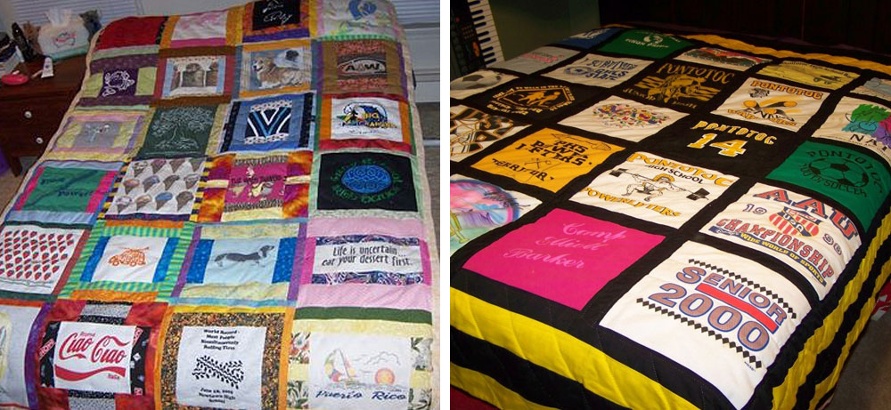 Quick and Easy T-Shirt Quilt Tutorial | National Quilters Circle : interfacing for t shirt quilts - Adamdwight.com