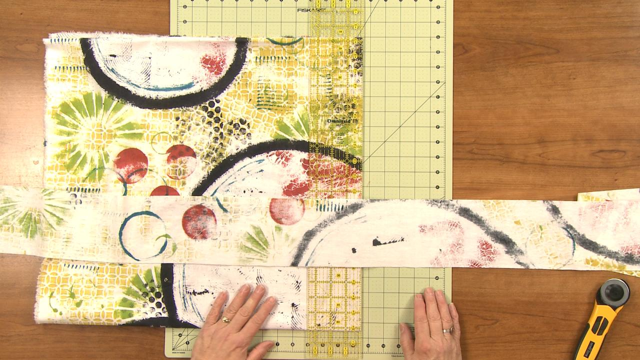 Cutting Long Quilt Borders   National Quilters Circle