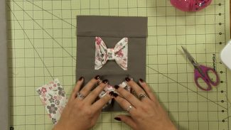 Create a 3D Bow Tie Quilt Block