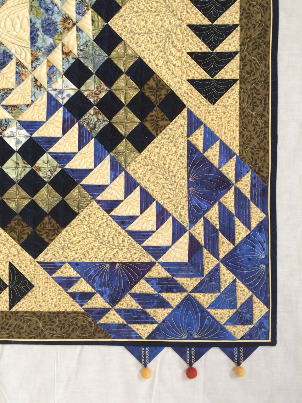 Personalizing Your Quilts with Embellishments Part 1: Prairie Points ...