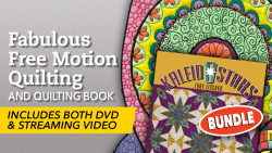Fabulous Free Motion Quilting + DVD & Book