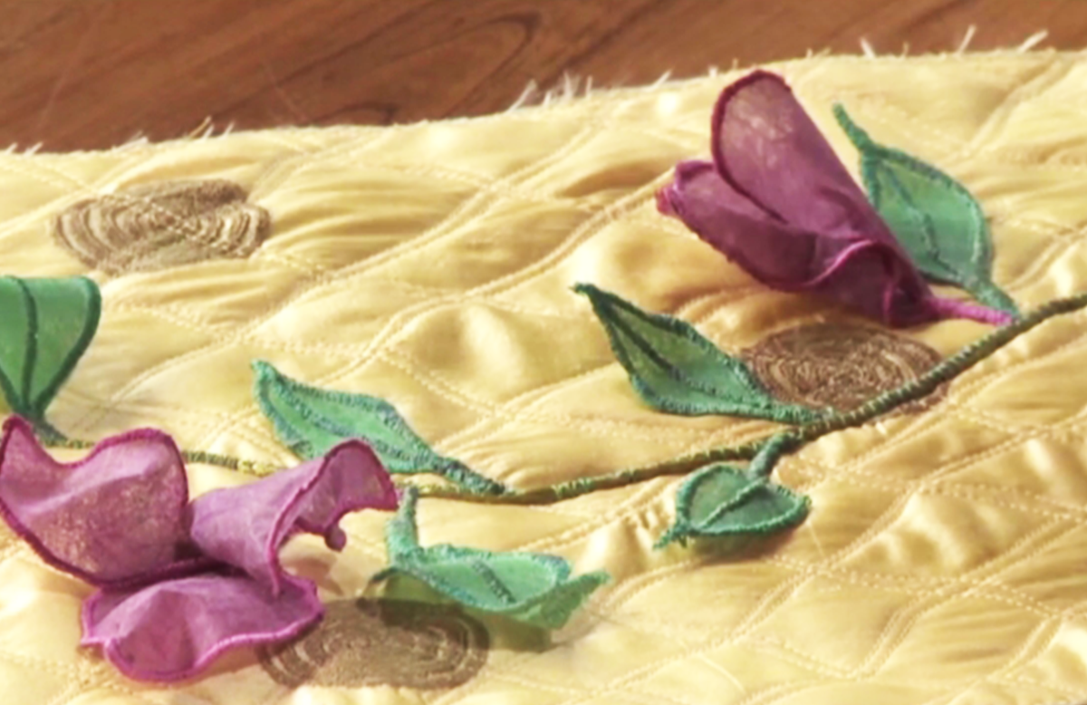 3D Quilt Ideas: Creating 3D Flowers for Quilts