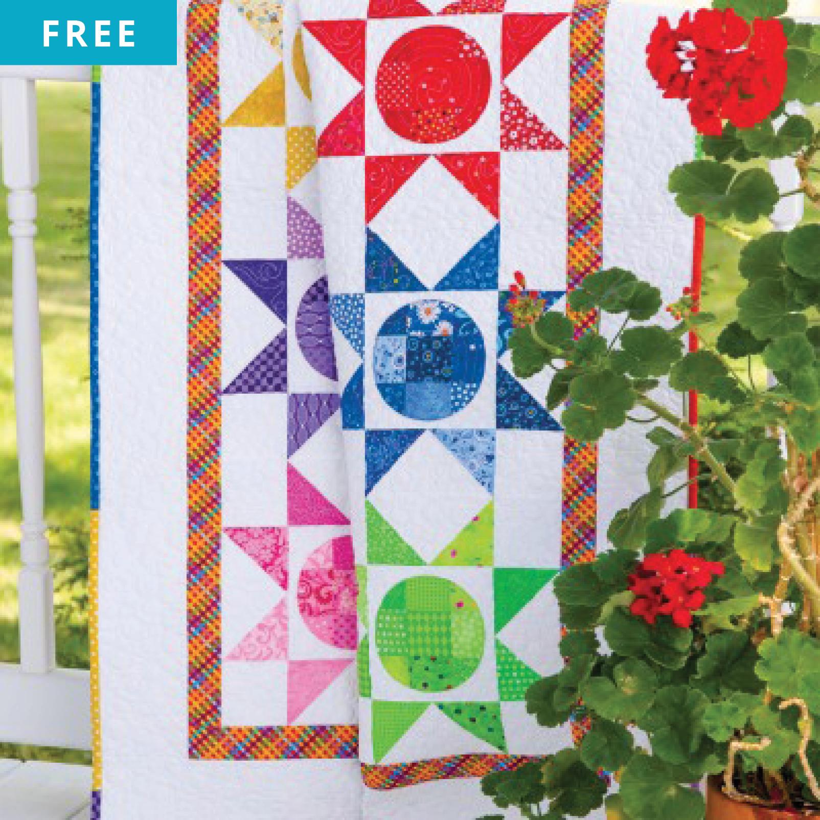 Free Quilt Pattern - Starstruck Throw Quilt