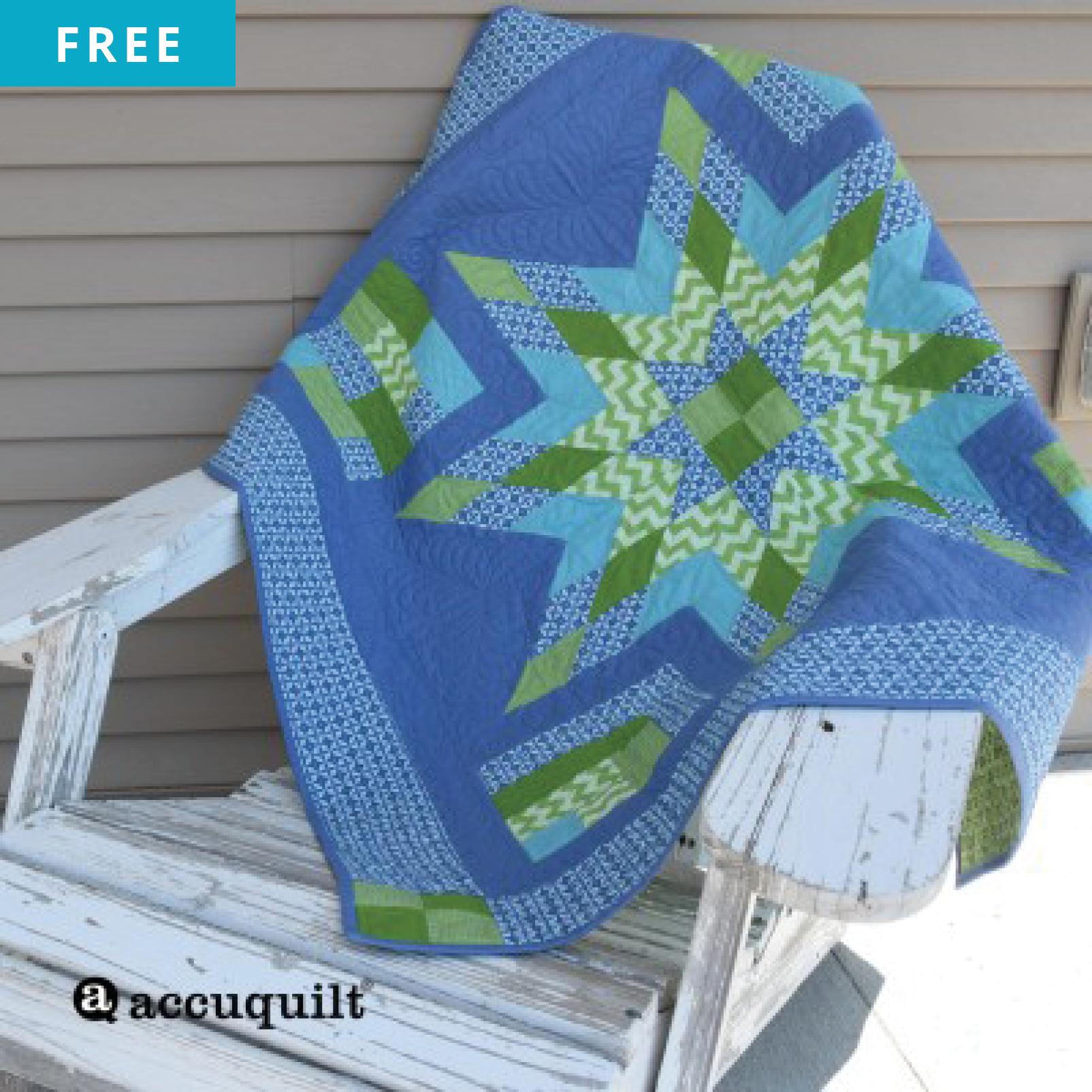 Free Quilt Pattern - Strip Star Quilt