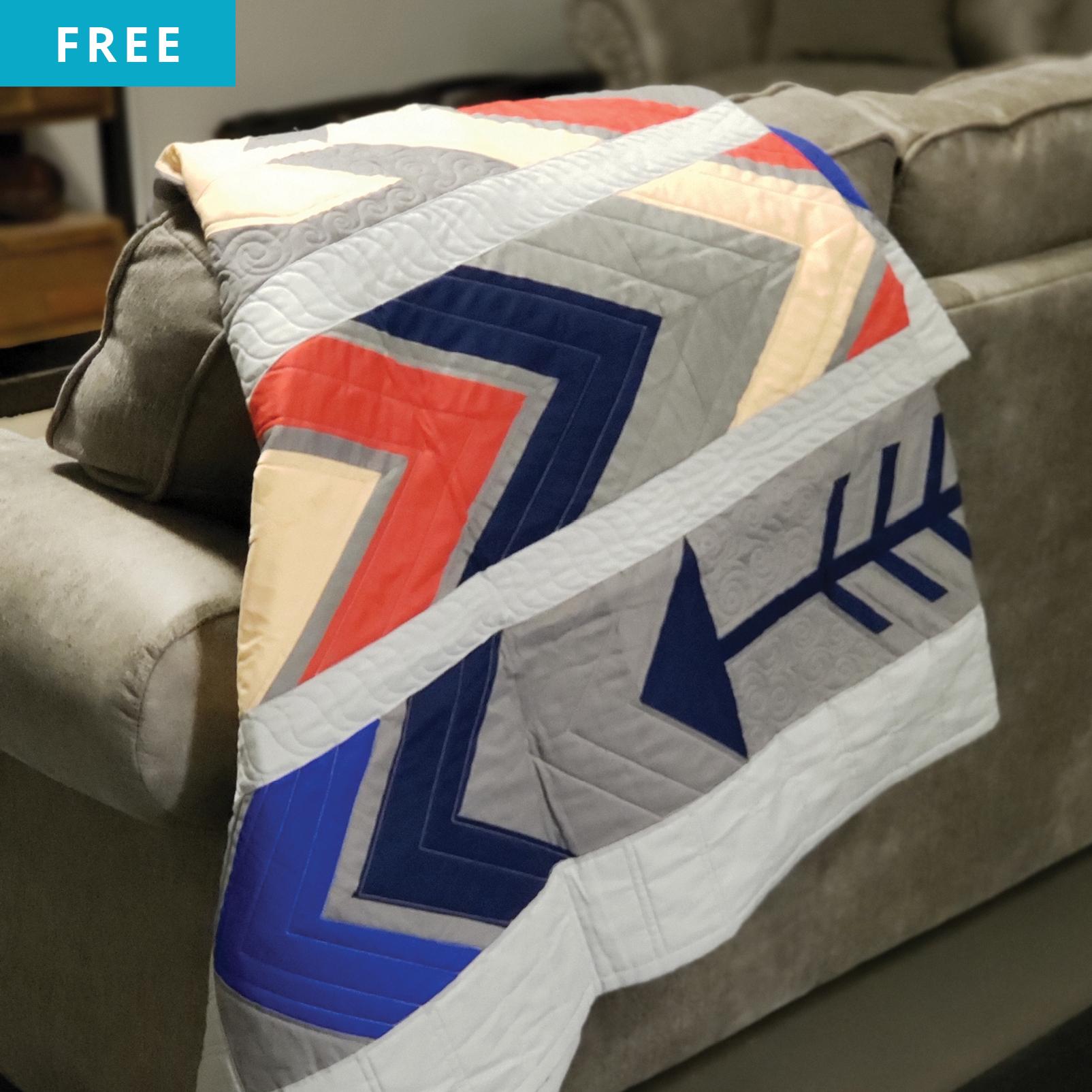 Free Quilt Pattern - Arrows Quilt