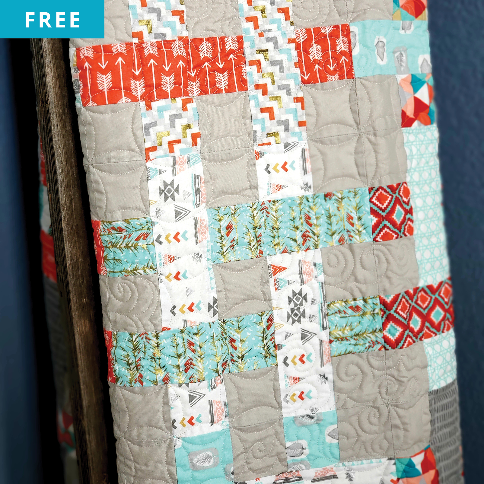 Free Quilt Pattern - Jelly Roll Jumble Quilt