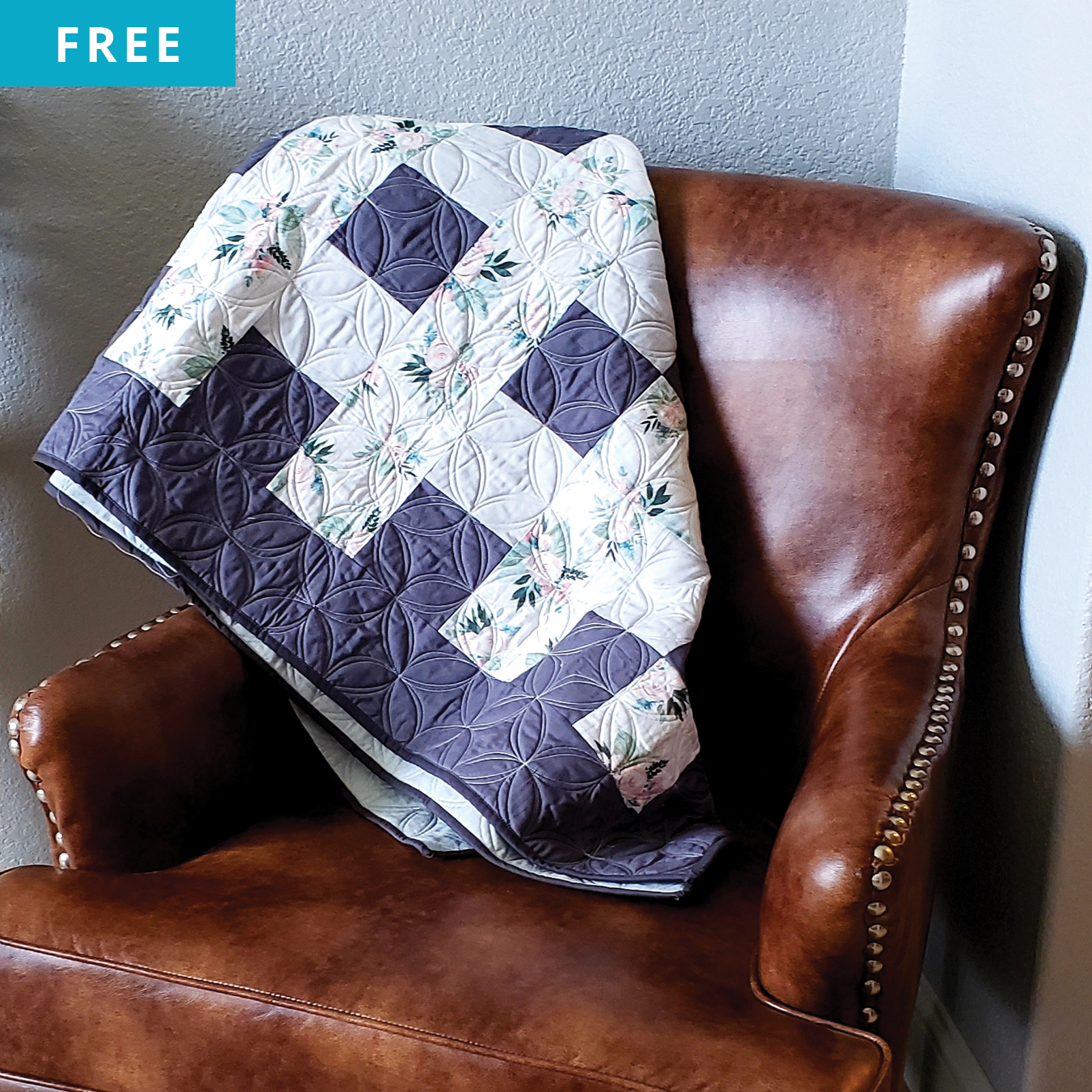 Free Quilt Pattern - Overlapping Lines Quilt