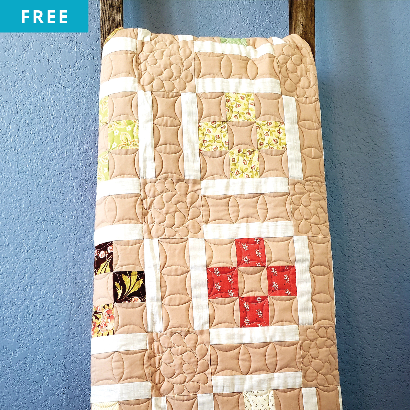Free Quilt Pattern - Charming Strips Quilt